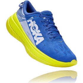 Hoka One One Carbon X Running Shoes Men, amparo blue/evening primrose